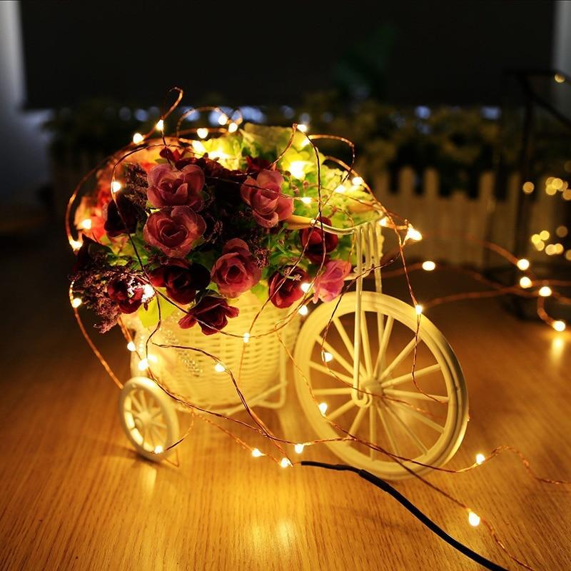 1pcs 5M 10M DC12V String Light Remote Control Christmas Wedding Party Festival Decoration Lights Waterproof Holiday LED Lighting