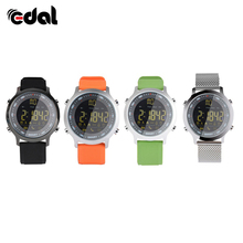 Luxury Brand Mens Sports LCD Bluetooth 4.0 Watches Waterproof 50m Digital Smart Watch Fashion Casual Electronics Wristwatches