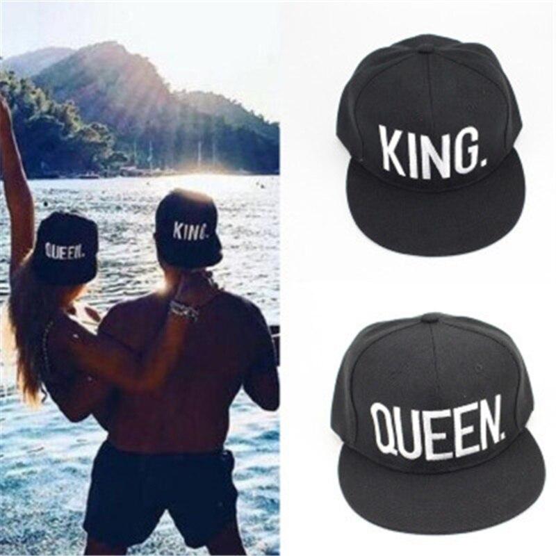 Compra gorras king queen online al por mayor de China