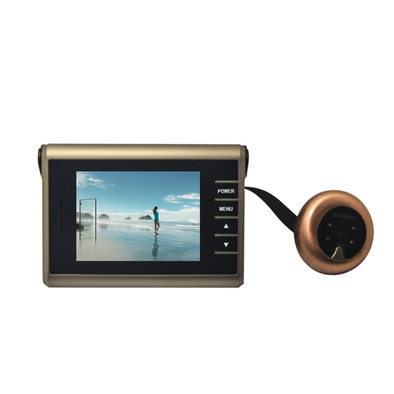 HYT-D12 High Quality 3.0 inch LCD 120 Degree Peephole Viewer Door Eye Wireless Door Peephole Viewer Camera Video Home Security 2 4 inch doorbell peephole viewer lcd screen multifunction security camera 120 degree angle view