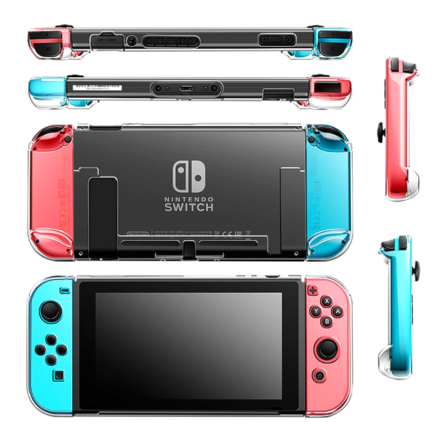 Nintendos Switch Game Accessories Transparent Plastic Hard Crystal Shell Nintend Switch Case Cover for Nintendo Switch Games 5