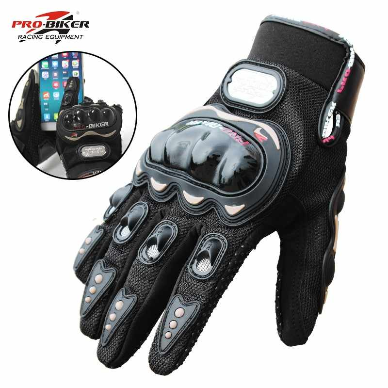 Man Women Gloves Waterproof Polyester Guantes Full Finger Motorcycle Cycling