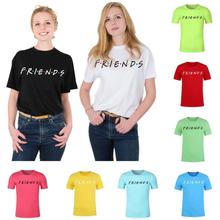Stefan janoski FRIENDS Letter t shirt Women tshirt Casual Funny For Lady Girl Top Tee Hipster Drop Ship