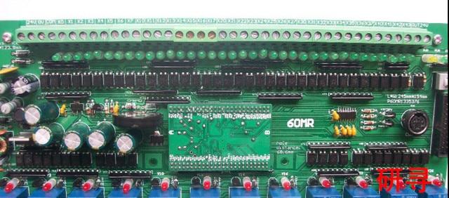 Быстрый Свободный Корабль FX1N-60MR ПЛК промышленного управления плата управления MCU доска Программируемый контроллер PLC