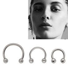 Buy Nose Piercing Men And Get Free Shipping On Aliexpress Com