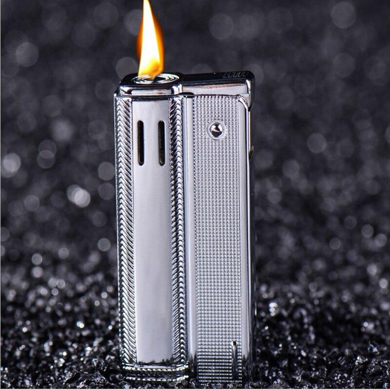 Retro Austria Kerosene Lighter Old Metal Original Oil Gasoline Cigarette Lighter Cigar Fire Briquet Tobacco Lighters Gift