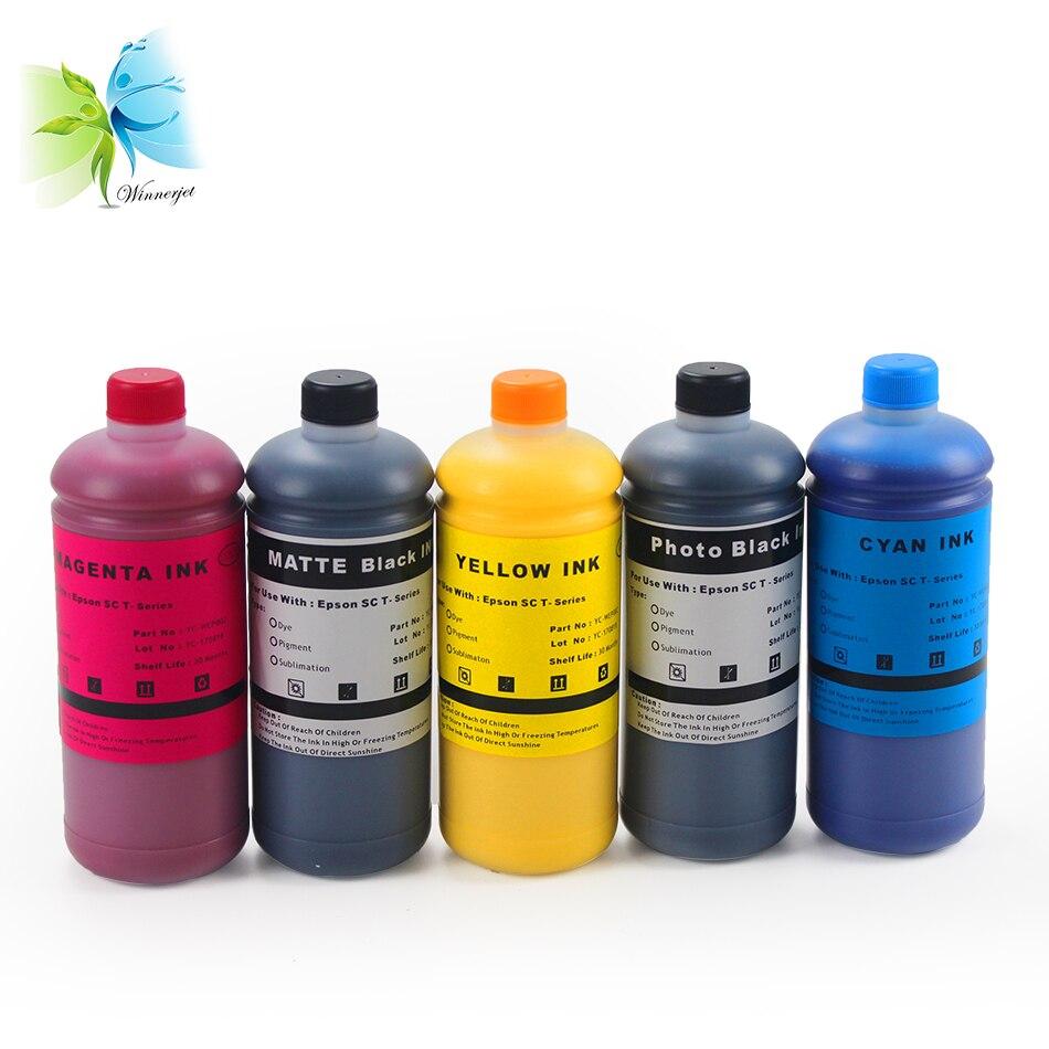WINNERJET compatible for Ultrachrome XD pigment ink for Epson SureColor SC-T3200 SC-T5200 SC-T7200 T3200 T5200 T7200 bulk ink