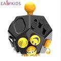 Nueva Fidget alivia Cubo cubo anti-estrés juguetes para niños y adultos Fidget Cube segundo dados anti irritabilidad vinilo escritorio juguetes
