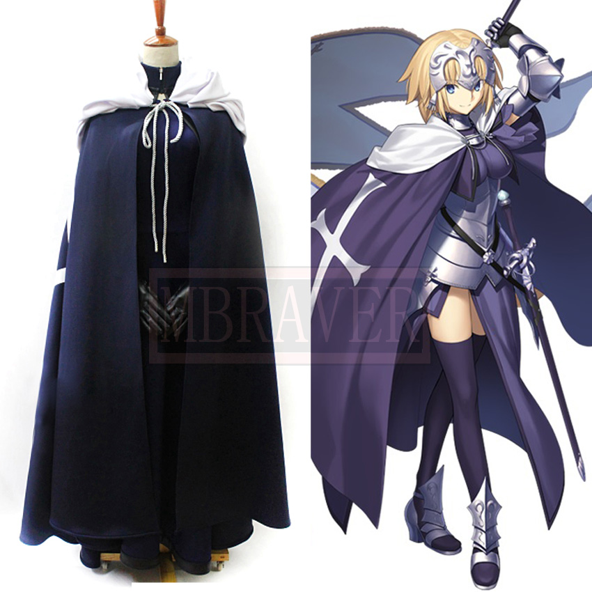 Fate/Grand Order FGO Alter Jeanne d'Arc Halloween Carnival Birthday Party Cosplay Costume Custom Made Any Size