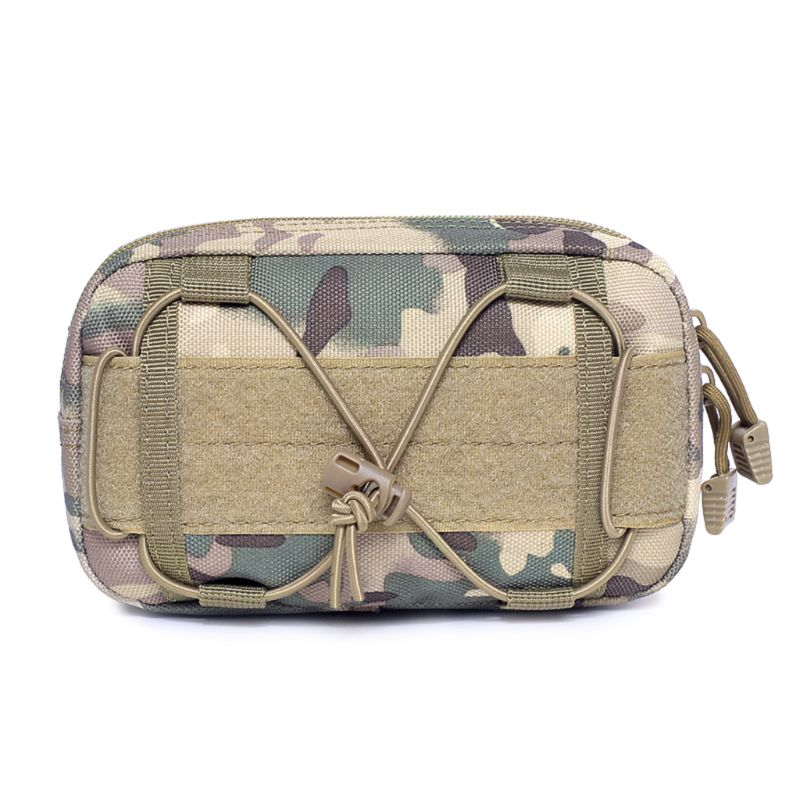 2019 New Fashion MOLLE Pouch Multifunction Tactical Fanny Pack Shoulder Crossbody Bag for Outdoor in Waist Packs from Luggage Bags