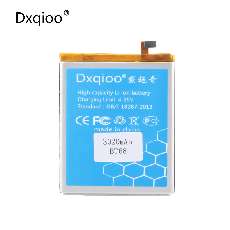 Dxqioo BT68 BT15 <font><b>battery</b></font> fit for <font><b>meizu</b></font> <font><b>M3S</b></font> <font><b>M3S</b></font> <font><b>Mini</b></font> 3020mah <font><b>batteries</b></font> image