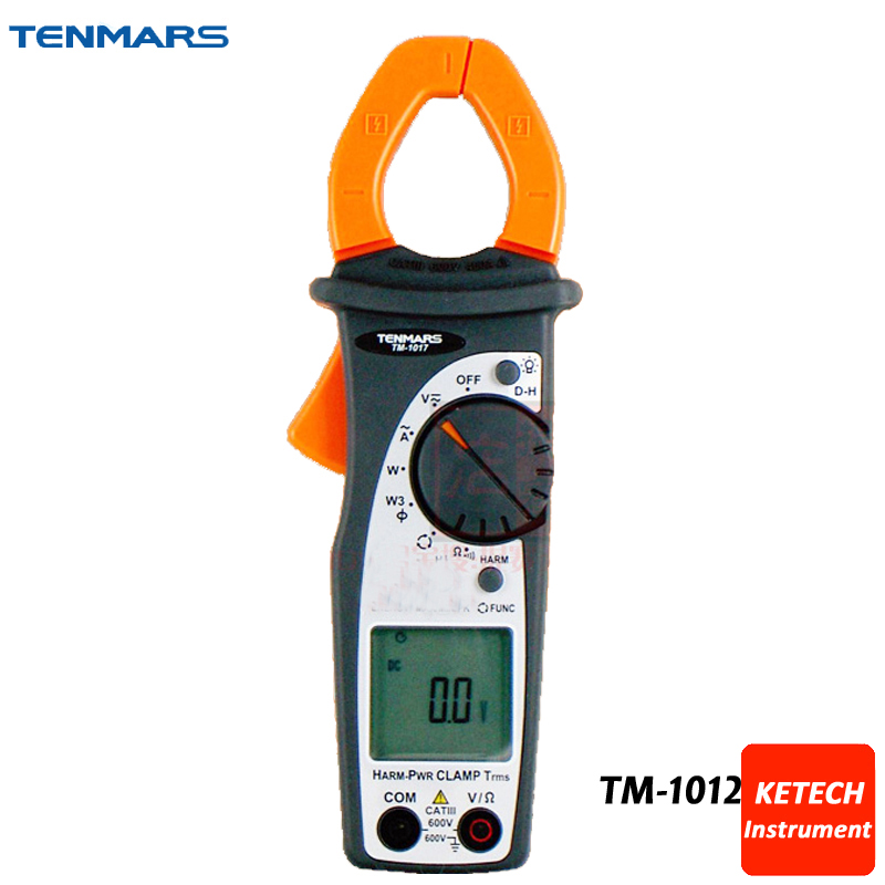 TM1012 CAT III 600V 400A Autoranging AC Clamp-on Meter ac 3 1 2 lcd display automatic manual shift digital clamp meter tester tm 1012 tm1012