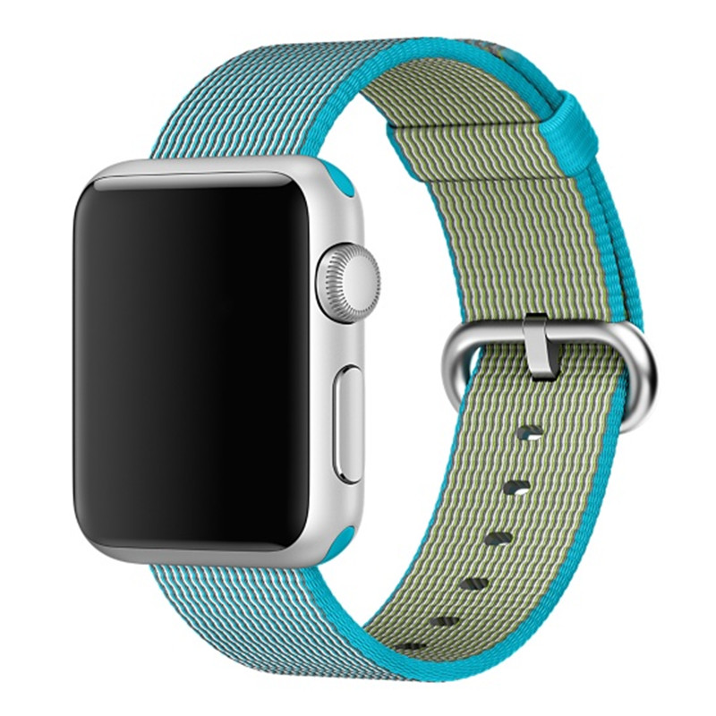 CRESTED Woven nylon watchban strap For apple watch band 42 mm 38 mm sport bracelet wrist band for iwatch Series 3 2 1 Edition