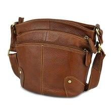 Bolsa de couro bovino feminina, bolsa tiracolo para mulheres, transversal, bolsa de mensageiro, 100%