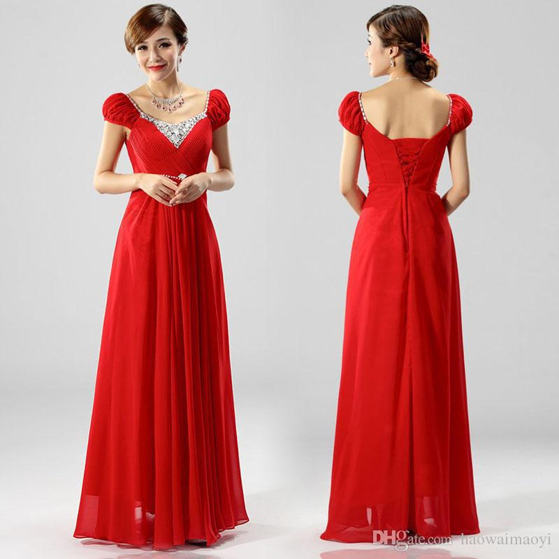 Aliexpress.com : Buy Plus Size Evening Dresses 2015 Wedding Dress ...