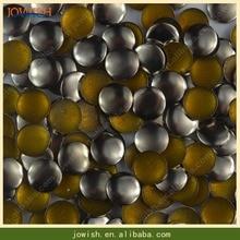 Серебрено-позолоченная цепочка из пушечной бронзы бронзовые заклепки 10000 шт./упак. круглые плоские снизу поверхности клепки для горячей фиксации железа на diy Шипы искусства, ремесла и шитья