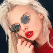 2019 New Women Round Sunglasses Brand Desinger Tinted Color Vintage Sun