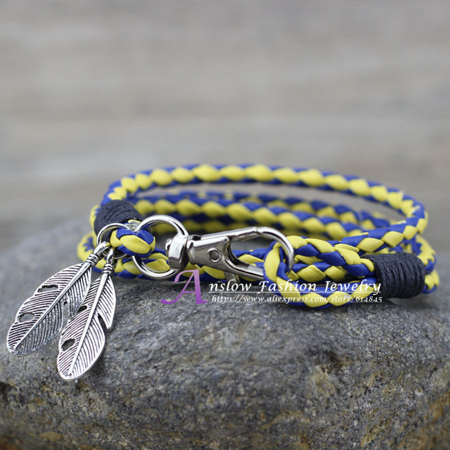 Leather Charm Friendship Bracelets & Bangles
