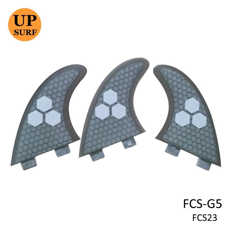 FCS Fin Surf тақталары F5 G5 Orange / Blue / Green / Gray - Су спорт түрлері - фото 2