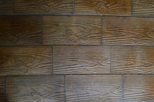 4pcs 3 Different Texture Plastic Molds Moulds For Concrete Garden