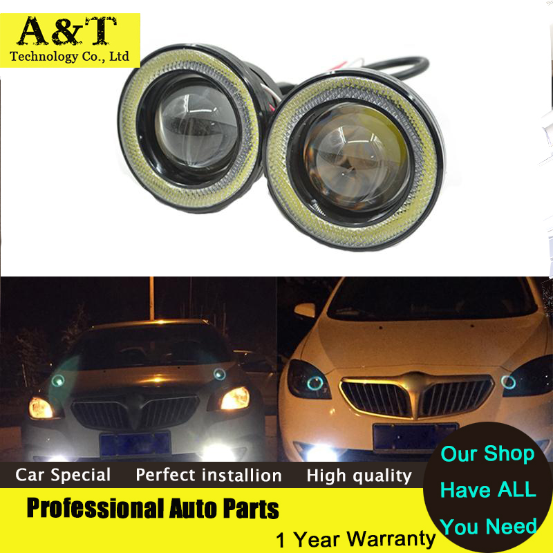 car styling Car Styling LED COB led Angel Eyes Fog Lights led Daytime Running Lights DRL Auto Accessories itimo 20 5cm universal daytime running lights auto accessories dc 12v cob led 6000k car drl fog lamps light source car styling