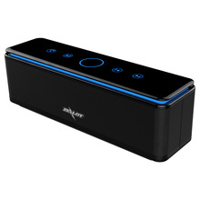 ZEALOT S7 3D бас стерео Беспроводная колонка, Bluetooth звуковая панель с сенсорным управлением, портативный 26 Вт AUX TF карта 20h воспроизведения