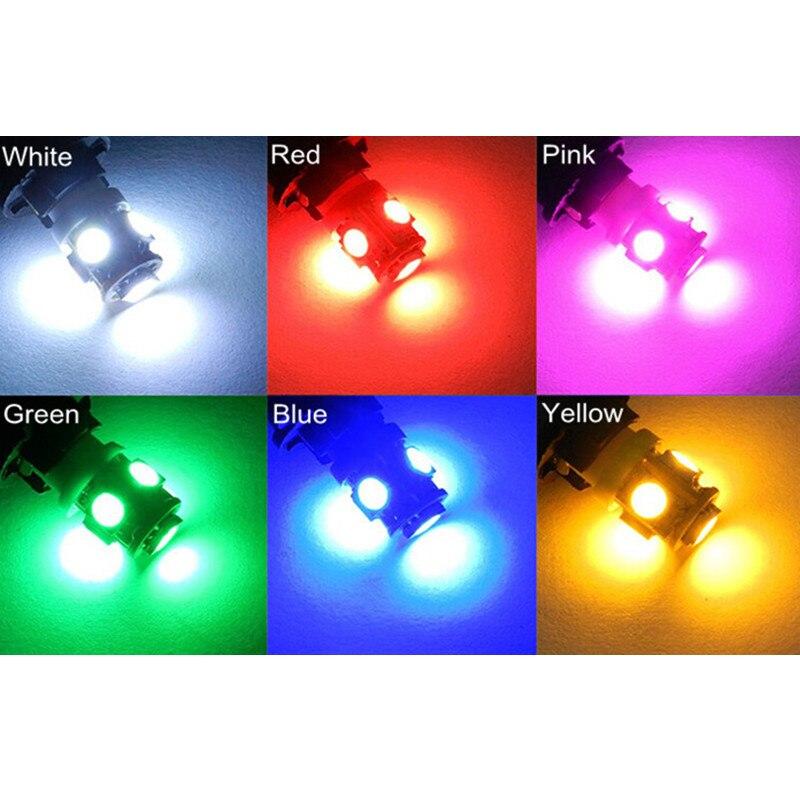 BOAOSI 4x Super bright LED T10 5050smd Car Canbus No Error Number Plate Light for KIA RIO K2 K5