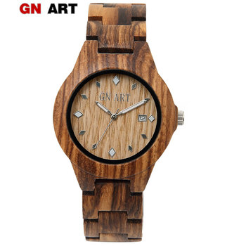 GNART wooden watches women reloj mujer luxury 2019 relojes para mujer  wood watch famous relogio feminino wooden watch ladies