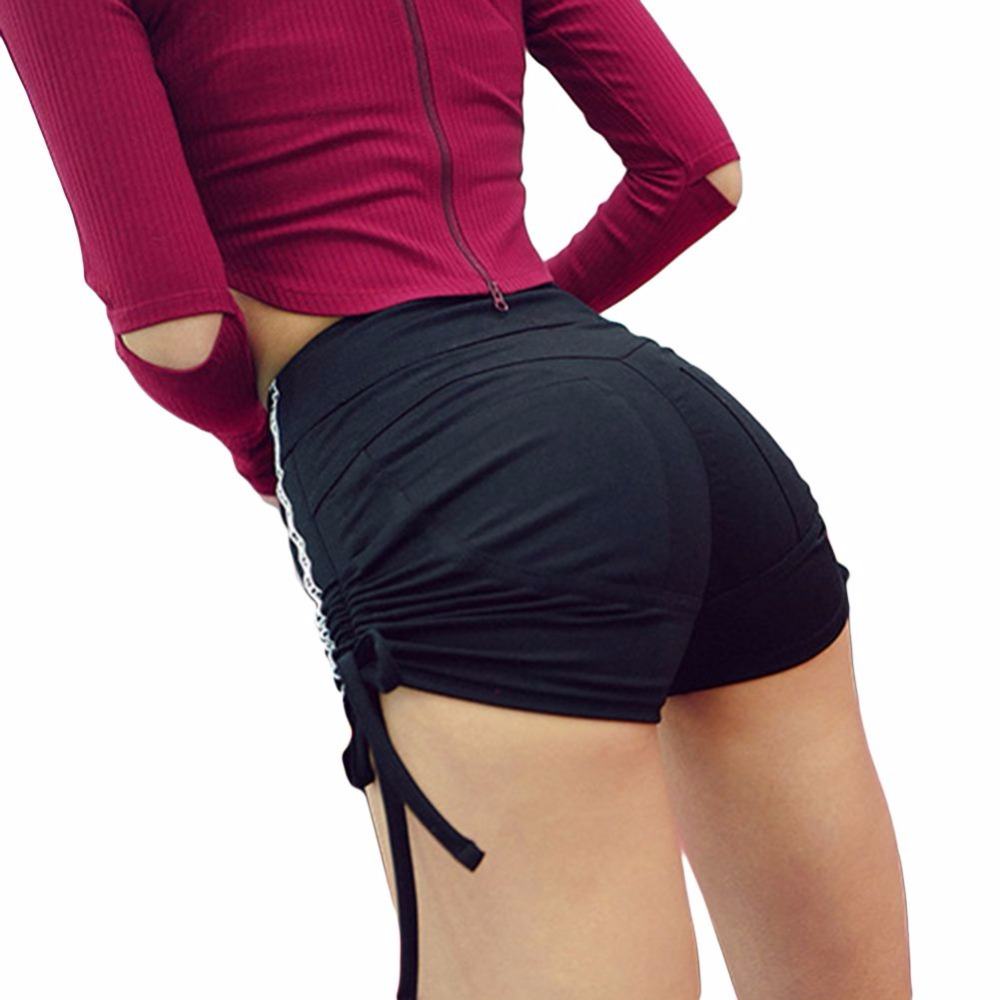 Sexy Yoga Shorts Gym Booty Women Sport Shorts Fitness High