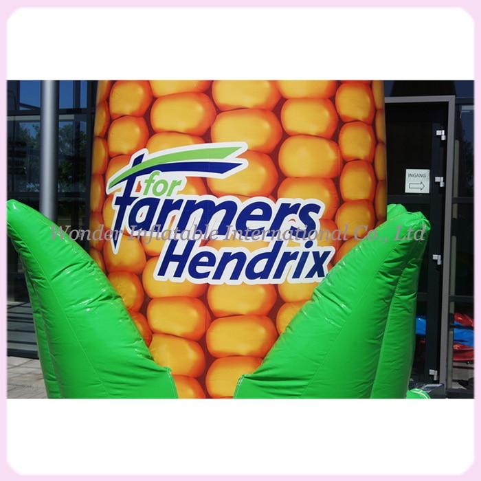 Ilmatäytteiset puhallettavat maissimallit, puhallettavat maissin - Tavarat lomien ja puolueiden - Valokuva 2