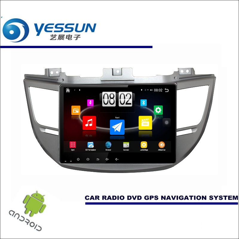 YESSUN Car Android Player Multimedia For Hyundai Tucson IX35 2015~2017 - Radio Stereo GPS Nav Navi ( no CD DVD ) 10.1 HD Screen