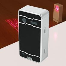 Wireless Bluetooth Virtual Laser Projection Keyboard Mouse Bluetooth Speaker For iPad iPhone Tablet Laptop PC Silver Black APE