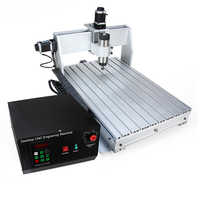 6040 2.2KW 4axis CNC router CNC wood carving machine USB Mach3 control Woodworking Milling Engraver Machine with Cooled/Air