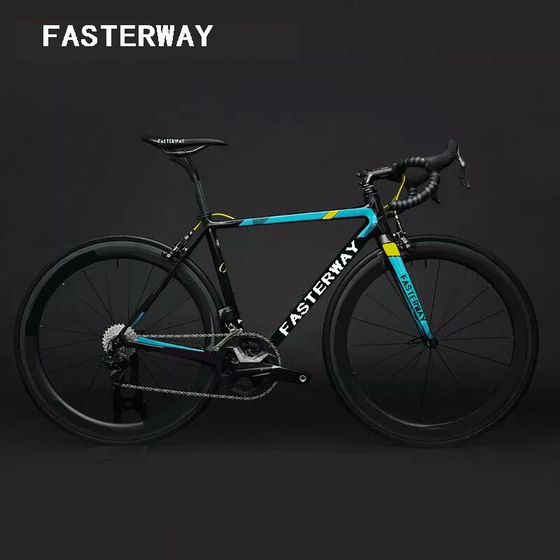 T1100 UD fasterway gallium pro super light carbon frame road bike team version:carbon Frameset+Seatpost+Fork+Clamp+Headset(China)