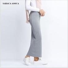 Весенне-осенняя мусульманская женская Повседневная хлопковая длинная юбка-карандаш с эластичной резинкой на талии, длина по щиколотку, длинная юбка с бюстом для девочек