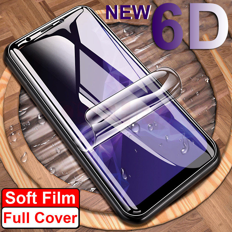 3pcs/Lot 3D Full Coverage PET Soft Film For Samsung Galaxy S9 S8 Plus Note 8 9 S7 S6 edge Screen Protector Not Tempered Glass dial vision adjustable lens eyeglasses