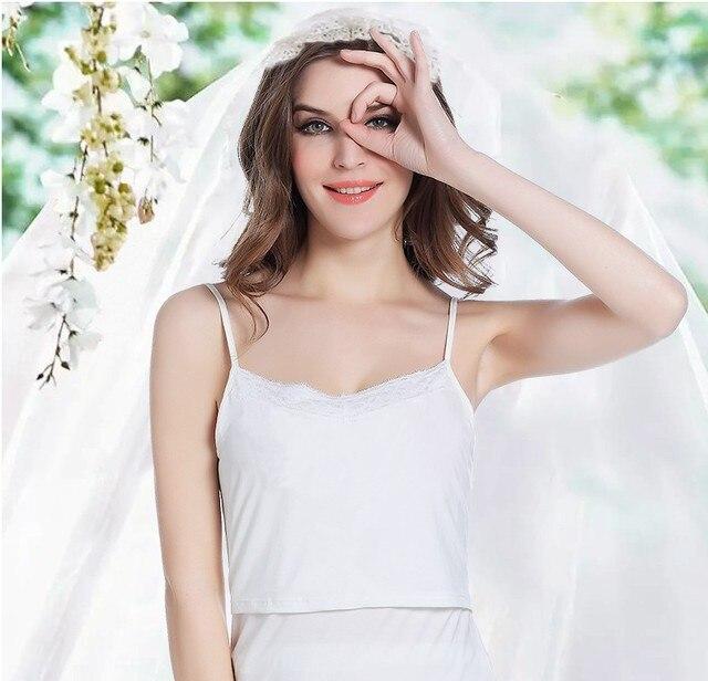 Hot sale Women Pregnant Slim Padded Stretch Nursing Bra Maternity Breastfeeding Vest with Lace M&B1033