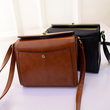 Women Messenger Bags Lock PU Leather Sod Women Bag Bso De Las Mujeres De Bloqueo Crossbody Bags