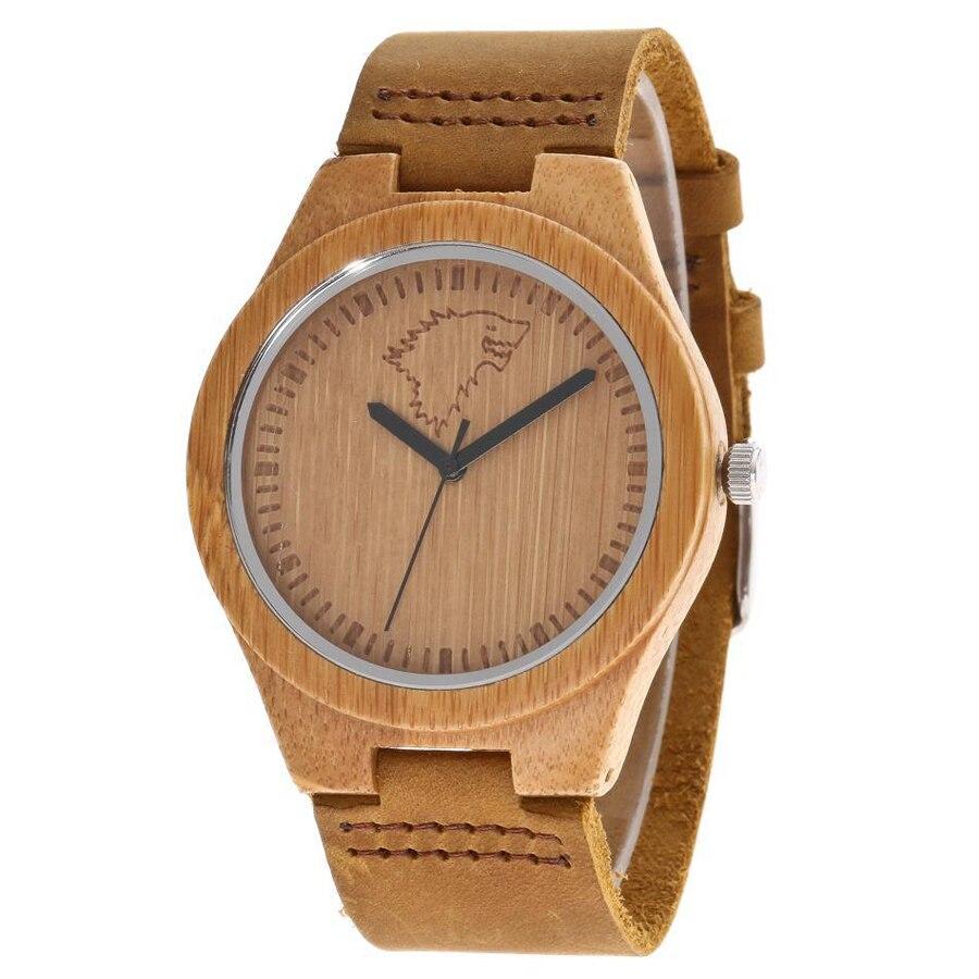 Fashion Women Watches Waterproof Famous Top Brand Luxury Wood Watch Women Quartz Wristwatch Leather Band Minimalist Ladies Watch