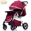 Baby kinderwagen können sitzen flach laien leichte falten tragbare sommer baby neugeborenen kinder trolley-in Leichte Kinderwagen aus Mutter und Kind bei