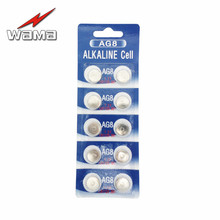 10x Wama AG8 LR1120 391 381 1.5V Alkaline Button Cell Coin Battery Wholesale Factory High Capacity Disposable Calculator Toy New стоимость