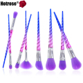 Hotrose Unicorn Makeup Brushes 8pcs Professional Foundation Powder Eyeshadow Best Brush Face Fantasy Makeup New Arrivals 2017