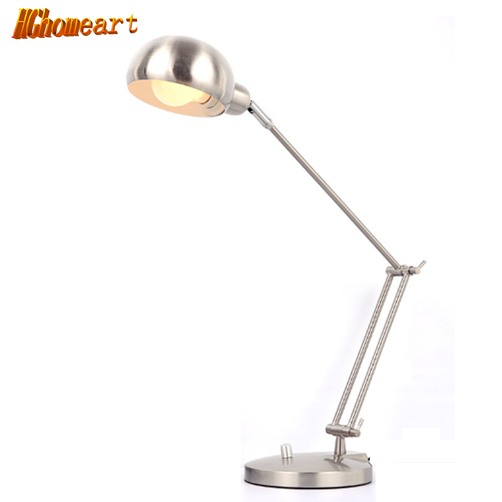 Night owl reading lamps - Pixar American Long Arm Folding Metal Photographic Eye Study Led Lamp Computer Desk Reading Night Light