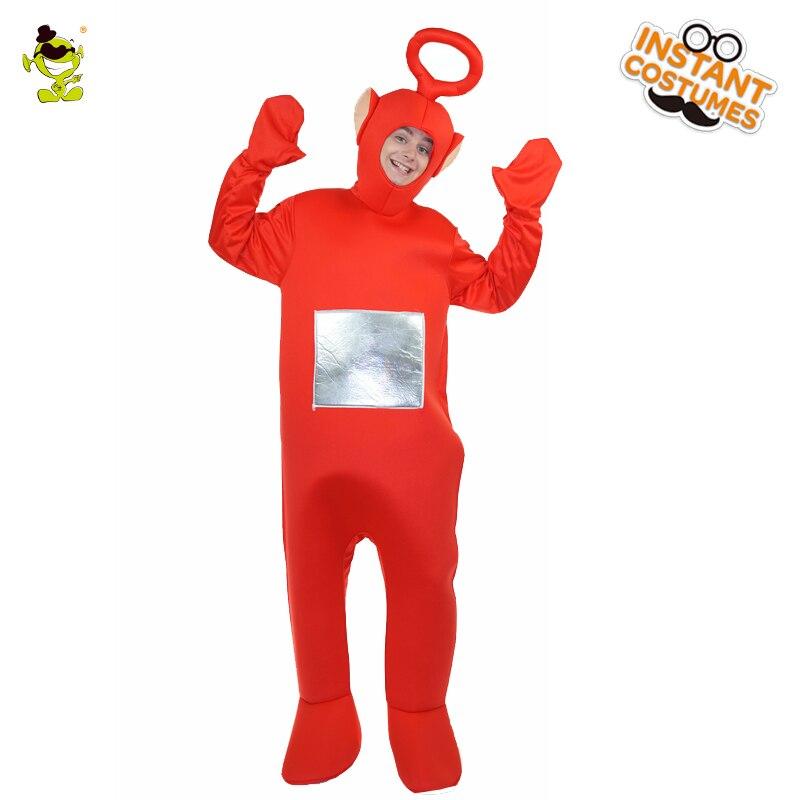 Popolare Movie Teletubbies Po Teletubbies Mascotte Dei Cartoni Animati Costumi Cospaly Film Hot Cartone Animato Po Jumsuit Rosso Po Costumi
