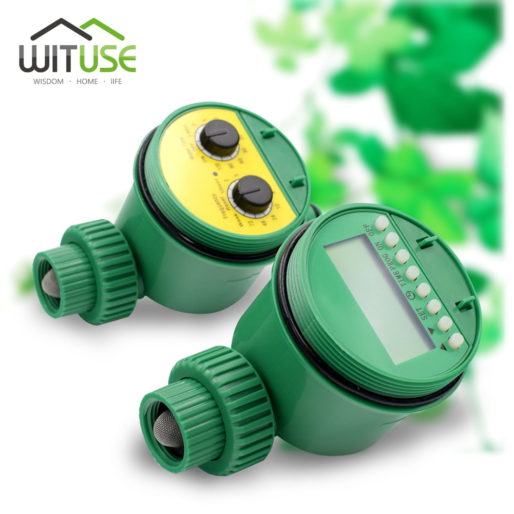 Image 2 - Garden Watering Timer Ball Valve Automatic Electronic Water Timer Home Garden Irrigation Timer Controller System-in Garden Water Timers from Home & Garden
