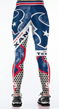 Unisex Football Team Texans 99 Print Tight Pants Workout Gym Training Running Yoga Sport Fitness Exercise Leggings Dropshipping 1