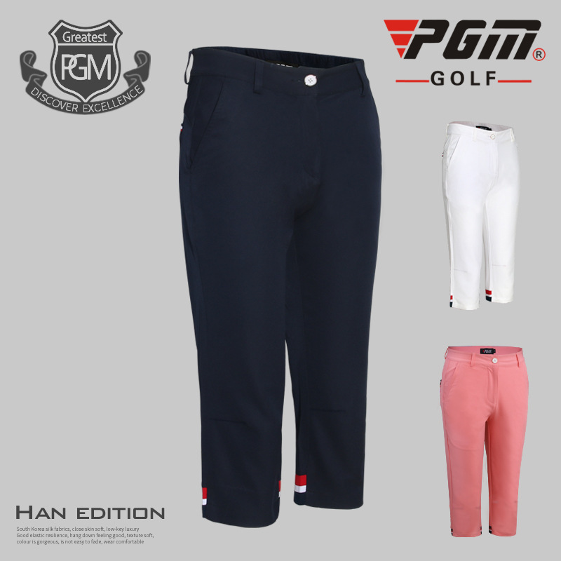 2017 women golf pants sports fabric summer golf trousers training or match apparel 5 colros pants Size 26~31 lady golf clothing цена