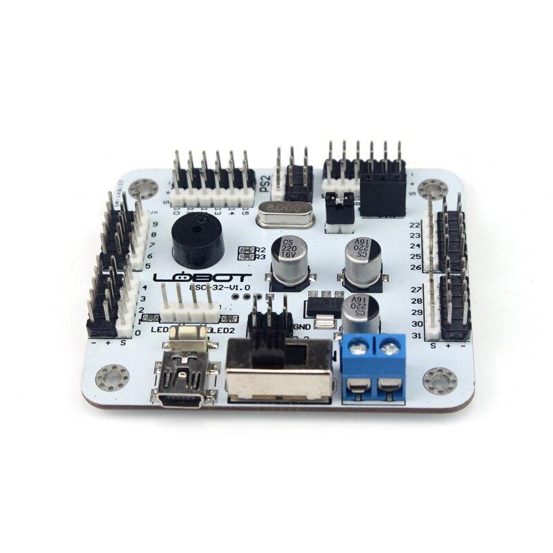 32 channel servo control board support PS2 handle/MP3 module /Bluetooth module for DIY robotic robotic arm accessories Servo fundamentals for control of robotic manipulators