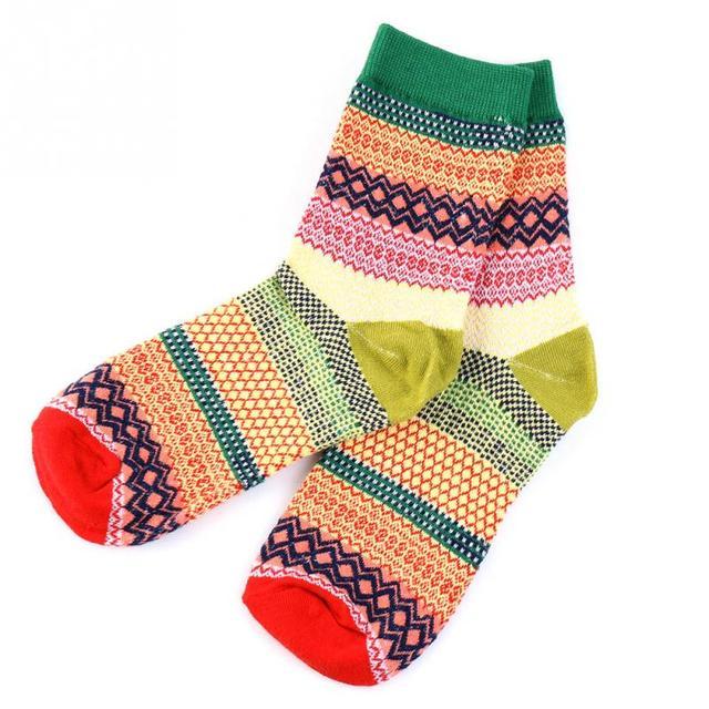 Más reciente Casual calcetines de algodón diseño Multi