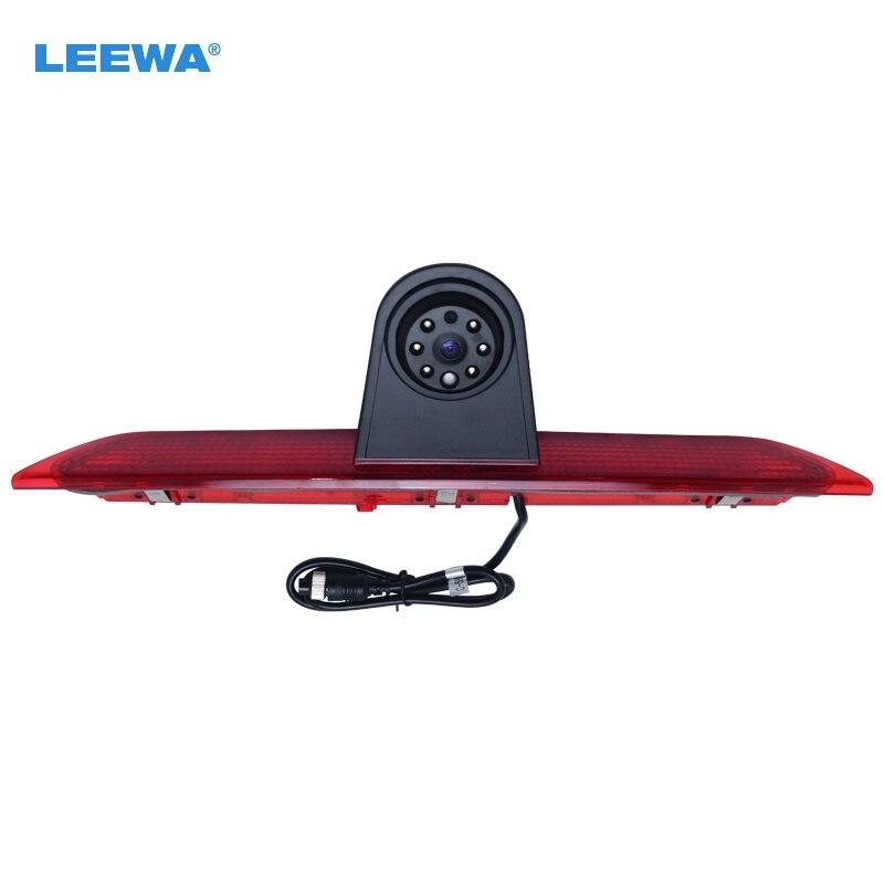 LEEWA Бесплатная доставка автомобиль водить стоп-сигнал заднего вида ИК обращать/парковочная камера для модели Форд Транзит Л 2014-2015 #CA5375